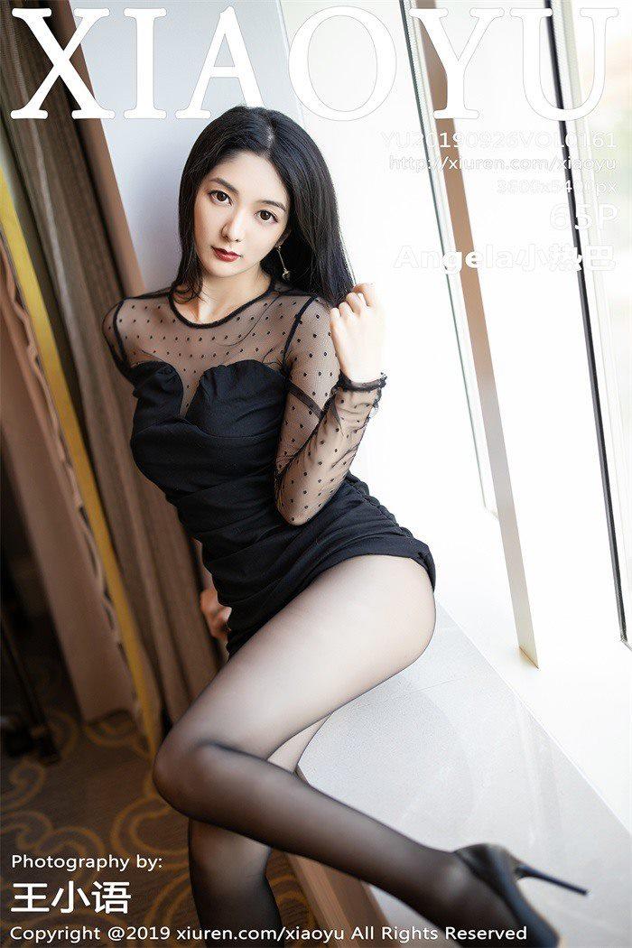 [XIAOYU语画界]2019.09.26 VOL.161 Angela小热巴[65+1P/392M]